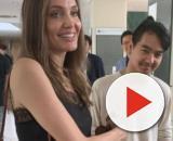 Angelina Jolie acompaña a su hijo Maddox en su primer día de universidad