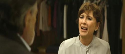 Beatriz discute com Otávio. (Reprodução/TV Globo)