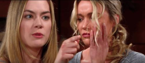 Beautiful spoiler americani: Hope prende a schiaffi Flo per averle mentito su Beth.
