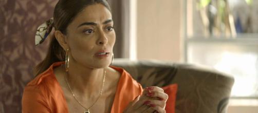 Maria da Paz chama psicóloga para avaliar Josiane. (Reprodução/TV Globo)