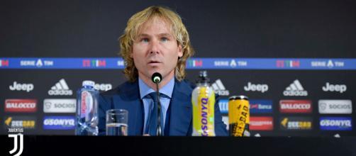 Pavel Nedved, vicepresidente della Juventus (Twitter: @juventusfcen)