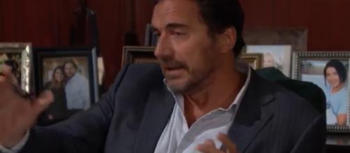 Ridge believes Brooke polished Thomas over the cliff on purpose.(Image Source:CBS-YouTube.)