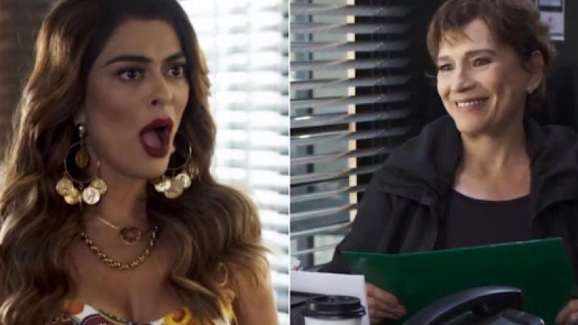 'A Dona do Pedaço', resumo de sábado (24): Maria busca contrato que anula posse de Jô sobre fábrica