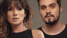 Luan Santana fala sobre canção com Paula Fernandes e diz que achou refrão 'meio brega'