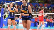 Volley: vittoria dell'Italia sulla Russia per 3-1, ora è semifinale europea con la Serbia