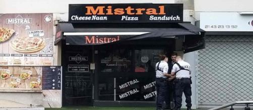 La pizzería está ubicada en la localidad de Noisy-le-Grand, a las afueras de París. / AFP