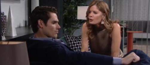 """Phyllis wants to team up with Adam again.(Image Source:The Young and the Restless""""-YouTube.)"""