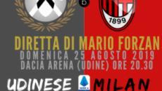 Diretta Serie A: L'Udinese ospita il 'nuovo Milan' di Giampaolo