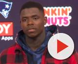 Gordon is eligible to play against the Pittsburgh Steelers in Week 1. [Image Source: NESN/YouTube]