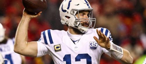 Andrew Luck tuvo el talento para deslumbrar en sus 7 años en la NFL. - newsweek.com