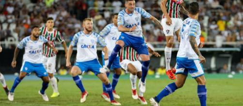 Fluminense x Avaí se enfrentam pelo Brasileirão 2019. (Lucas Merçon/FFC)