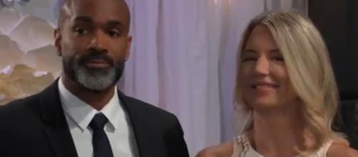 Curtis and Nina will have trying times on General Hospital. [Image Source: General Hospital-YouTube]