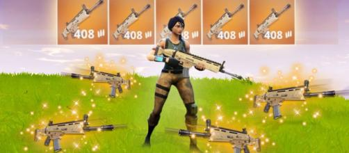 Use this trick to quickly obtain Legendary items in 'Fortnite Battle Royale.' [Image Source: XPertThief / YouTube]