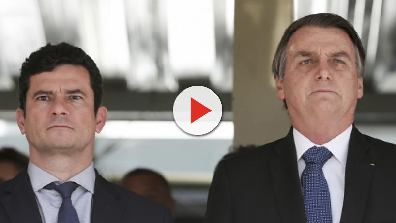 Bolsonaro diz que não tem 'problema nenhum' com Sergio Moro