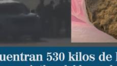 Enterrados 530 kilos de hachís a un kilómetro de donde veranea Pedro Sánchez