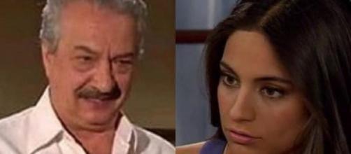 Ana Paula descobre que Elza matou Frederico. (Reprodução/Televisa)
