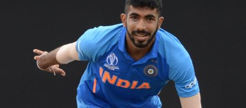 Bumrah in action in a limited over game. His 5 for 7 won India. Photo ( Image credit-starsports/youtube)