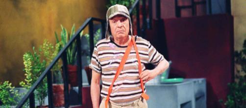 Chaves apareceu apenas no final do episódio. (Arquivo Blasting News)