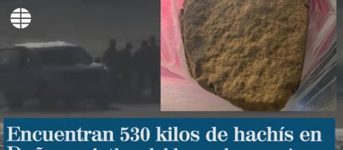Encuentran 530 kilos de hachís cerca de donde veranea Pedro Sánchez. / EL MUNDO