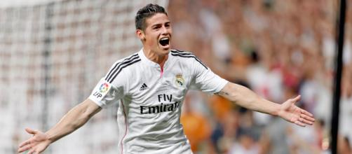 James Rodriguez, 28enne trequartista in forze al Real Madrid - wallhere.com