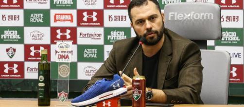 Mário Bittencourt, presidente do Fluminense lança desafio. (Reprodução/fluminense.com.br)
