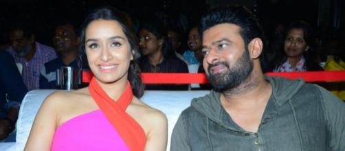 Prabhas, Shraddha Kapoor And Saaho Movie Team at Hyderabad Press Meet (Image Credit: Times News/Youtube screenshot)