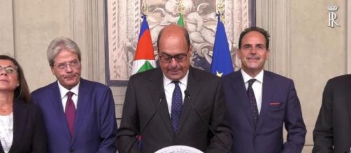 Zingaretti verso governo con M5S (Fonte: La Repubblica - Youtube)