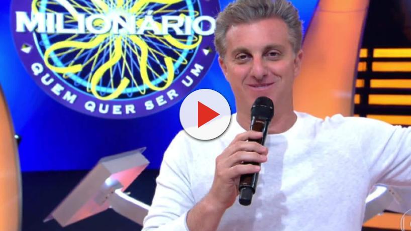 Luciano Huck leva cantada de homem durante programa e fica sem graça: 'fala, meu lindo'