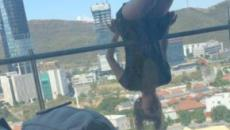 Una joven cae desde 25 metros de altura por practicar 'yoga extremo' en México