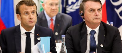 Atrito entre Macron e Bolsonaro ganha novos capítulos. (Clauber Cleber Caetano/PR/Flickr)