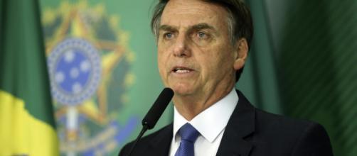 Bolsonaro afirma que em breve vai estourar uma 'falsa acusação' contra alguém próximo a ele. (Valter Campanato/Agência Brasil)