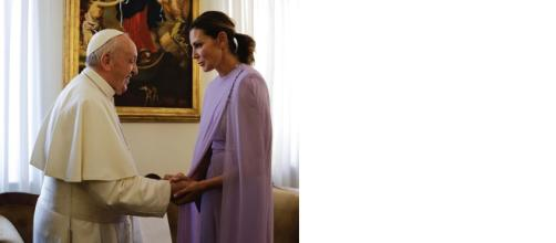 Mar Flores tiene una reunión con el Papa Francisco
