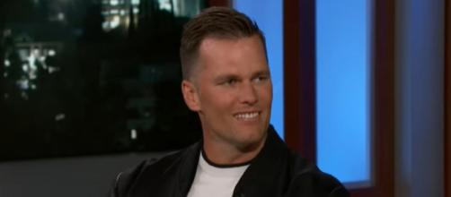 Brady's success on and off the field has helped him stand the test of time. [Image Source: Jimmy Kimmel Live/YouTube]