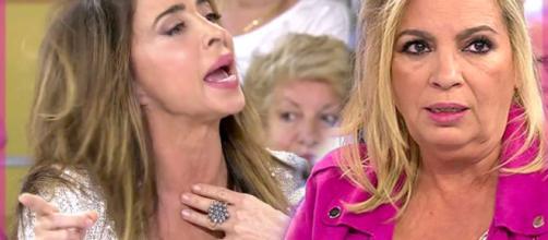 María Patiño arremete contra Carmen Borrego en 'Sálvame'. / vivafutbol.es