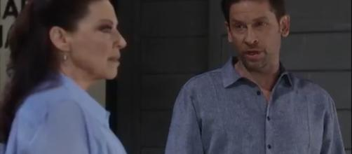 Obrecht has problems accepting Dranco.(Image Source:General Hospital-YouTube.)