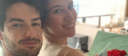 A filha de Silvio Santos se declarou ao amado. (Reprodução/ Instagram/ @rebecaabravanel)