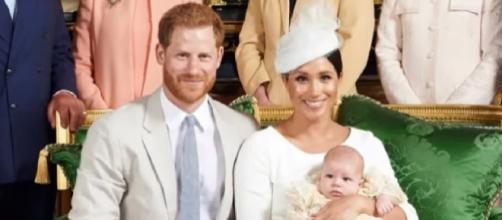 Archie's Special Day! Inside the Royal Baby's christening. [Image source/ E! News YouTube video]