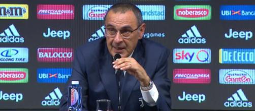 Juventus, Sarri ancora in campo