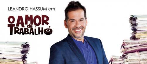 Leandro Hassum é o protagonista do filme 'O Amor dá Trabalho'. (Arquivo Blasting News)