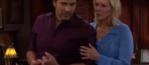Ridge will spend the night with a woman who is not Brooke. (Image Source:CBS-YouTube.)
