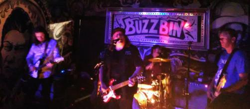 Drivin' N' Cryin' take command at the Buzzbin Concert Club in Canton, Ohio during the Pro Football H.O.F. Weekend.Photo by author Samuel Di Gangi