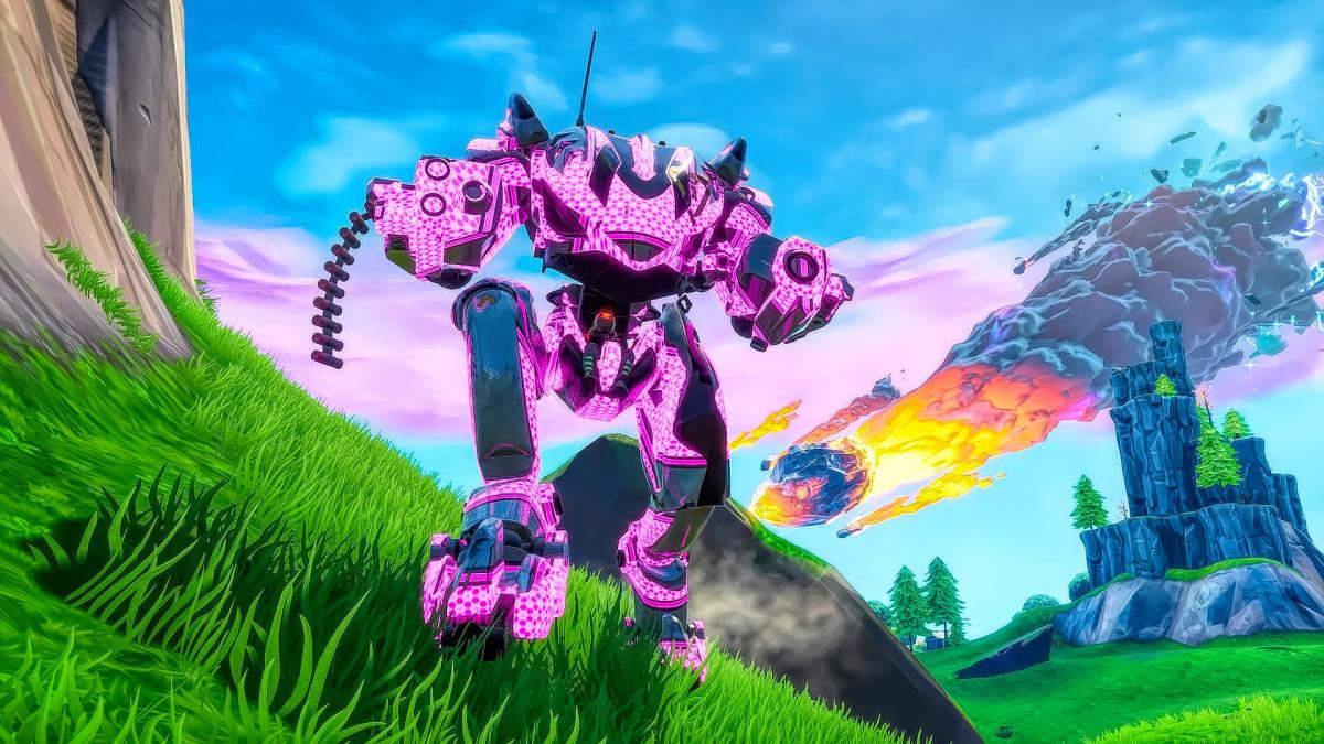 Epic Games might be planning to nerf the BRUTE mech in 'Fortnite'