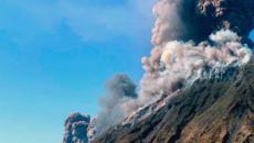 Stromboli, allarme dall'Ingv: 'Rischio tsunami se collassa Sciara del Fuoco'