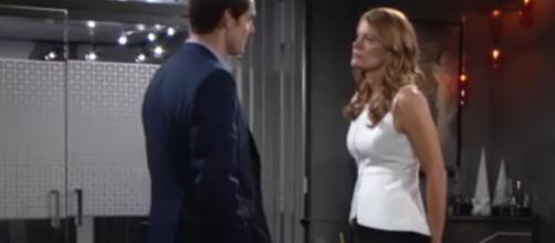 Adam and Phyllis plot against Victor.(Image Source:The Young and the Restless-YouTube.)