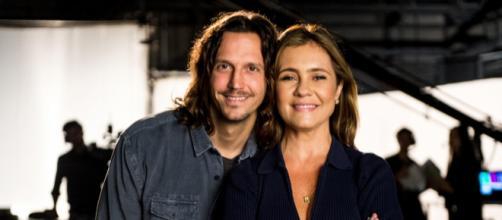 Adriana e Vladimir se apaixonaram nos bastidores da TV. (Arquivo Blasting News)