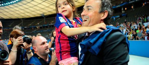 Luis Enrique anuncia la muerte de su hija por un cáncer óseo