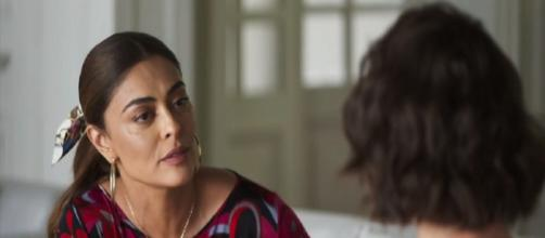 Maria da Paz e Josiane voltam a se enfrentar. (Reprodução/ TV Globo)