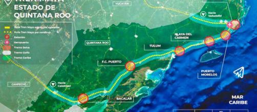 Tren Maya, prioridad del gobierno de AMLO. - aristeguinoticias.com