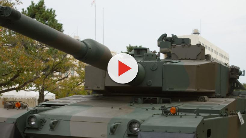 Barrel of T-90 battle tank explodes during war games in Jaisalmer