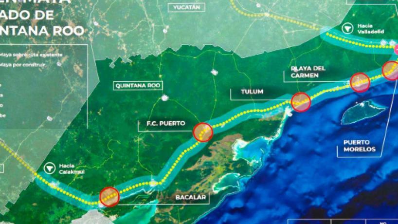 ONU advierte que Tren Maya violará derechos humanos de los indígenas mexicanos